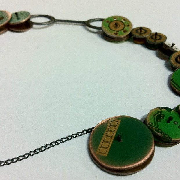 'Re-use – Revalue': Necklace No. 1